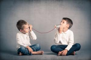 Barn som snakker
